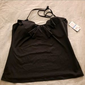 Kenneth Cole Black Swimsuit Top